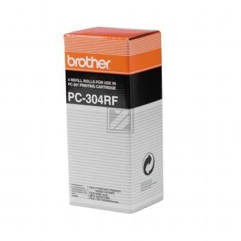 Original Brother PC304RF Thermodruckfolie Spar Set
